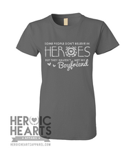 Some People Don't Believe In Heroes Shirt - Coast Guard