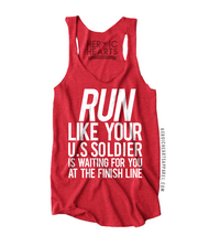 Run Like Your U.S. Soldier Top