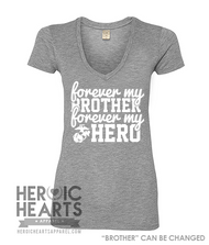 Forever My [Brother] Forever My Hero Shirt - USMC