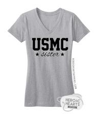 USMC [Sister] With Stars Shirt