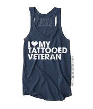 I Love My Tattooed Veteran Shirt