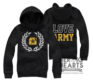 LOVE Army Crest Emblem Top