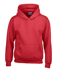 Youth Hoodie - Red