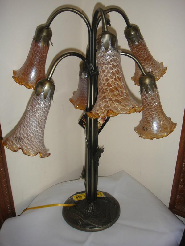 Dale Tiffany Connoisseur Collection Favrile Tulip Lamp 24 Quot