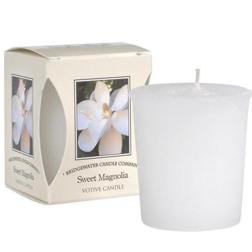 Bridgewater Candle Boxed Votive - Sweet Magnolia