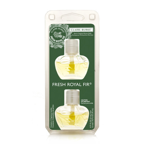 Claire Burke Electric Fragrance Warmer Refill 2016 - Fresh Royal Fir