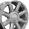 """20"""" Fits GMC - Denali Wheel - Chrome 20x8.5"""