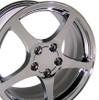 """17"""" Fits Chevrolet - Corvette C5 Wheel - Chrome 17x8.5"""
