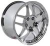 "17"" Fits Chevrolet - Corvette C5 Z06 Wheel - Chrome 17x9.5"
