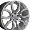 "22"" Fits Land Rover - Range RoverWheel - Hyper Silver 22x10"