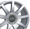 "18"" Fits Audi - RS4 Wheel - Silver 18x8"