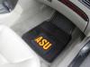 Arizona State Univ. Sun Devils 2-pc Heavy Duty Vinyl Car Floor Mat