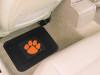 Clemson University Tigers 2-pc Rear Floor Mats