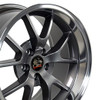 "18"" Fits Ford - Mustang FR500 Wheel - Anthracite 18x10"