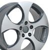"17"" Fits Volkswagen - GTI Wheel - Gunmetal 17x7"