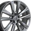 """19"""" Fits Lexus - RX350 F Sport Wheel - Hyper Silver 19x7.5"""