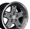 "15"" Fits Jeep - Wrangler Wheel - Hyper Black 15x8"