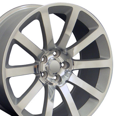 "20"" Fits Chrysler - 300 SRT Wheel - Silver 20x9"