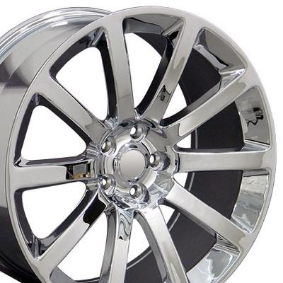 """20"""" Fits Chrysler - 300 SRT Wheel - Chrome 20x9"""