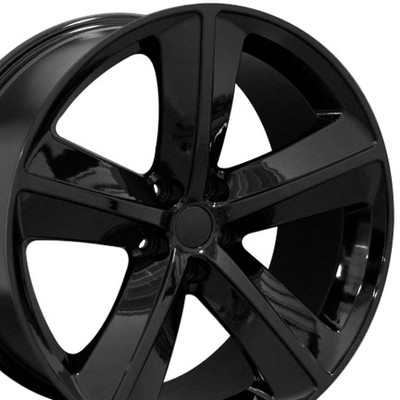 "20"" Fits Dodge - Challenger SRT Wheel - Black 20x9"
