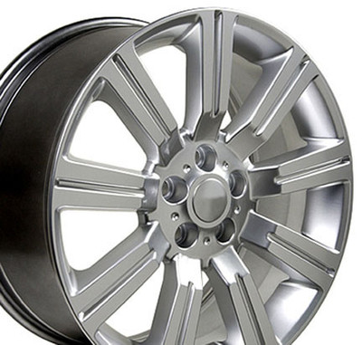 "22"" Fits Land Rover - Stormer Wheel - Hyper Silver 22x10"