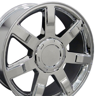 "24"" Fits Cadillac - Escalade Wheel - Chrome 24x10"