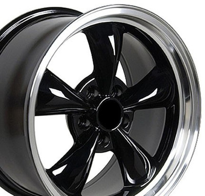 "17"" Fits Ford - Mustang Bullitt Wheel - Black 17x9"