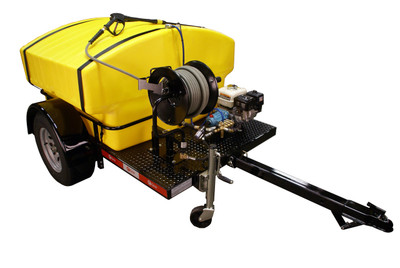 Model 4000BT Pressure Washer Trailer