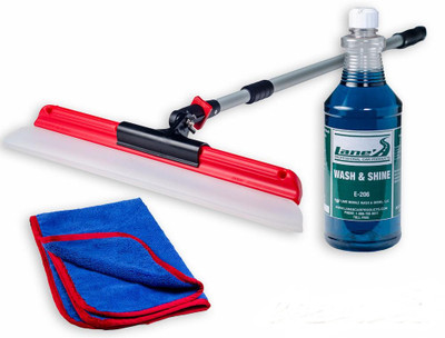 18 Inch Water Blade Car Wash Soap Kit
