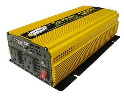 Go Power 1000 WATT MODIFIED SINE WAVE INVERTER 12V