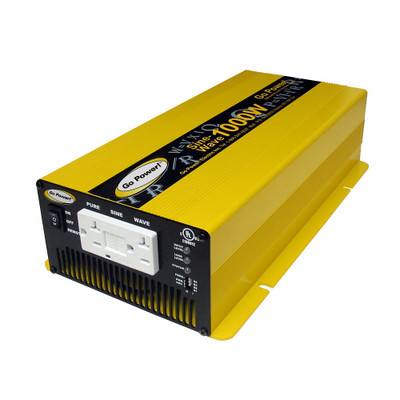 Go Power 1000 WATT PURE SINE WAVE INVERTER 12V