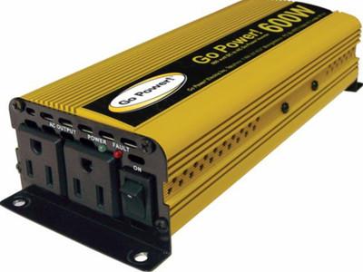 Go Power 600 WATT MODIFIED SINE WAVE INVERTER 12V