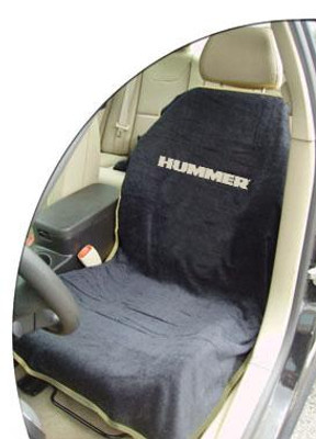 Hummer Black Car Seat Cover Towel