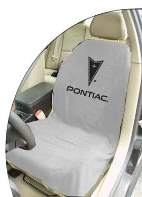 Pontiac Grey Car Seat Cover Towel