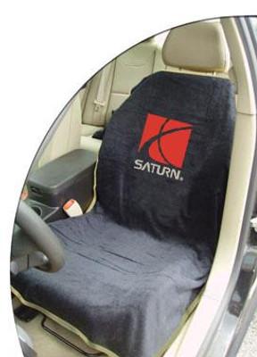 Saturn Black Car Seat Cover Towel