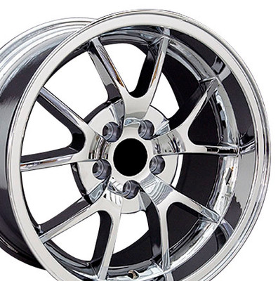 "18"" Fits Ford - Mustang FR500 Wheel - Chrome 18x10"