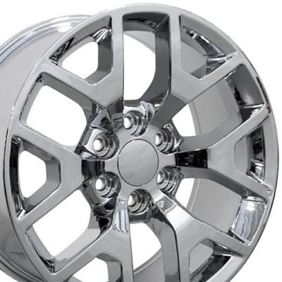 "20"" Fits GMC - Sierra 1500 Wheel - Chrome 20x9"