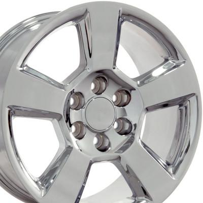 "20"" Fits Chevrolet - Tahoe Wheel - Chrome 20x9"