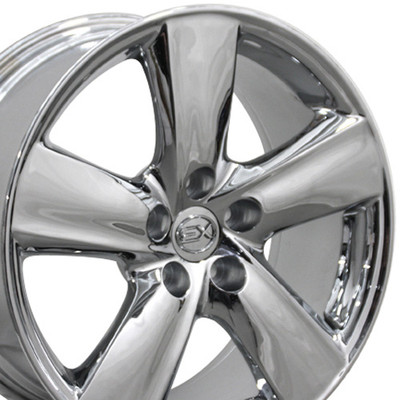 "18"" Fits Lexus - LS 460 Wheel - Chrome 18x8"