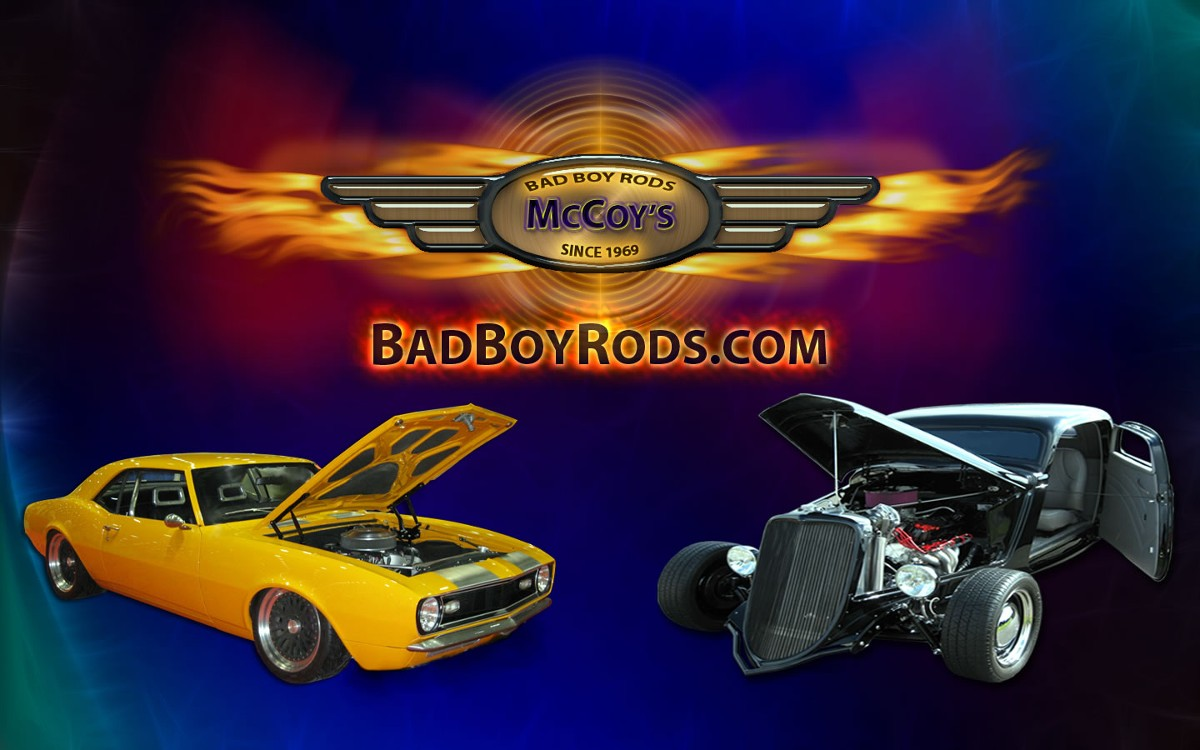 McCoy's Bad Boy Rods features Lane's Car Products