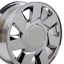 "17"" Fits Cadillac - DTS Wheel - Chrome 17x7.5"