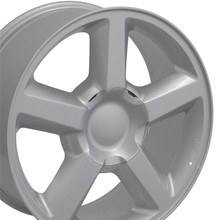 "20"" Fits Chevrolet - Tahoe Wheel - Silver 20x8.5"