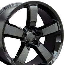 "20"" Fits Dodge - Charger SRT Wheel - Black 20x9"