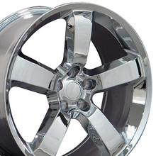 "20"" Fits Dodge - Charger SRT Wheel - Chrome 20x9"