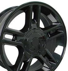 "20"" Fits Ford - F-150 Harley Wheel - Black 20x9"