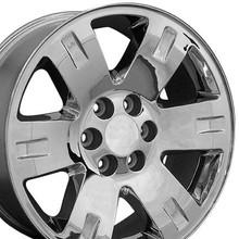 "20"" Fits GMC - Yukon Replica Wheel - Chrome 20x8.5"
