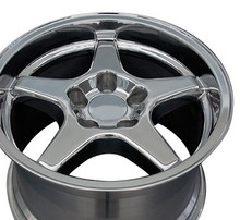 "17"" Fits Chevrolet - Corvette ZR1 Wheel - Polished 17x11"