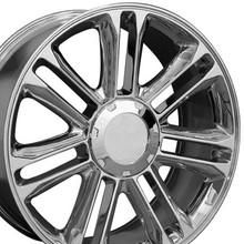 """22"""" Fits Cadillac - Escalade Replica Wheel - Chrome 22x9 OE-8579275"""
