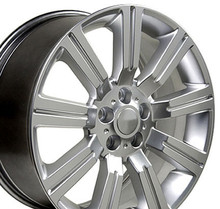"22"" Fits Land Rover - Stormer Wheel - Hyper Silver 22x10"