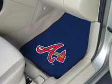 Atlanta Braves Carpet Floor Mats